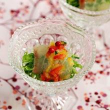 桜鯛のやさしいイチゴソース