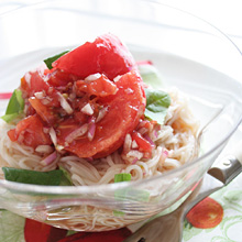トマトのイタリアンソーメン