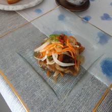 旬魚のさっぱりピリ辛南蛮ソース