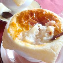 カリフラワーのミルクスープポットパイ