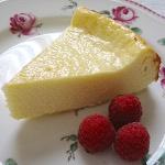 簡単ベークドチーズケーキ