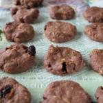 簡単すぎですチョコ色クッキー