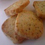 チーズ&ペッパークッキー