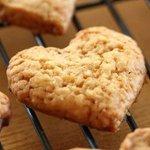 ハートのチョコチップクッキー