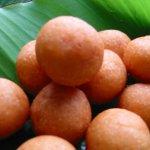 鶉の卵のもちもちドーナツ