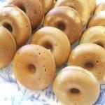 蕎麦粉の焼きドーナツ