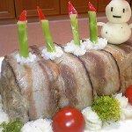 ミートローフケーキ