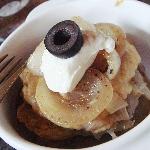 ポテトパンケーキのミルフューユ仕立て