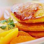 恋するかぼちゃのふわふわパンケーキ