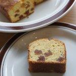 米粉と干し柿のパウンドケーキ