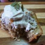栗とアーモンドのパウンドケーキ