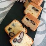 黒豆と和三盆のパウンドケーキ