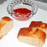 トマトとチーズの酵母パウンドケーキ