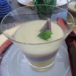 安納芋と紫芋のポタージユ