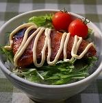 ブリの照り焼きマヨネーズ丼