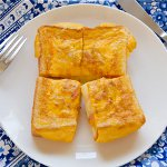 フライパンで作る、簡単ホットサンド