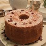 バラのシフォンケーキ
