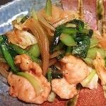 ふっくらささみのピリ辛野菜炒め