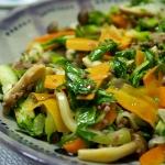 エスニック風残り野菜の炒め物