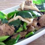 野菜とシーチキンのドレッシング炒め